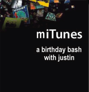 Party invite for my birthday