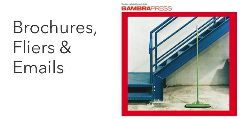 Brochures and fliers