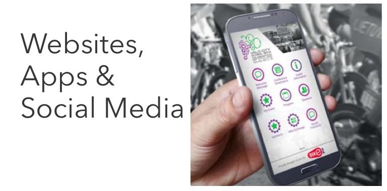 Websites, apps & e-marketing